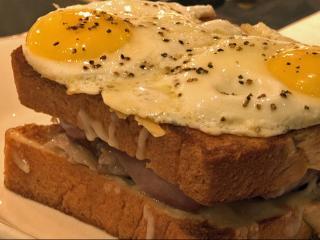 The Debutante Duck Confit sandwich at Tupelo Honey Cafe.