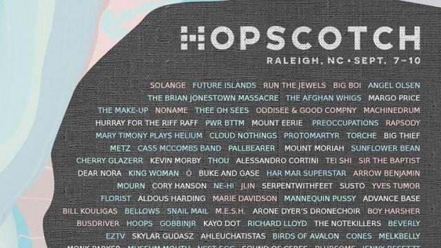 Hopscotch Lineup 2017