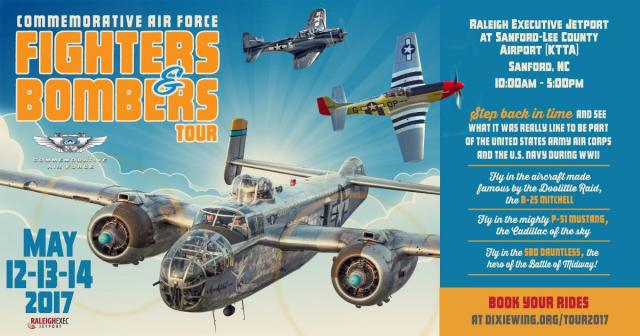 Promotional poster for the Commemorative Air Force event