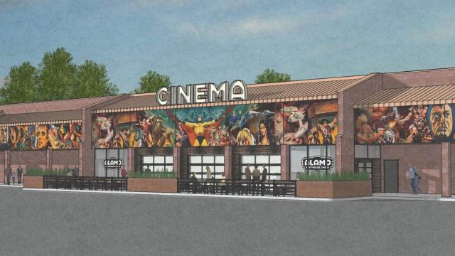 Rendering: Alamo Drafthouse Raleigh