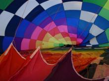 Winds keep balloons grounded on Day 1
