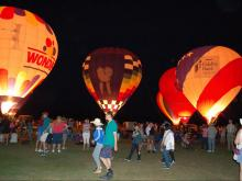WRAL Balloon Fest lights up Fuquay-Varina skies