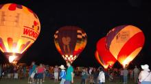 IMAGES: WRAL Balloon Fest lights up Fuquay-Varina skies