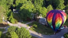 IMAGES: Balloons soar in competition at Fuquay-Varina festival