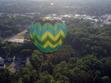 Balloons soar in competition at Fuquay-Varina festival