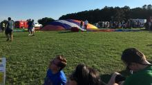 IMAGES: Live music, shopping, food start at WRAL Balloon Fest