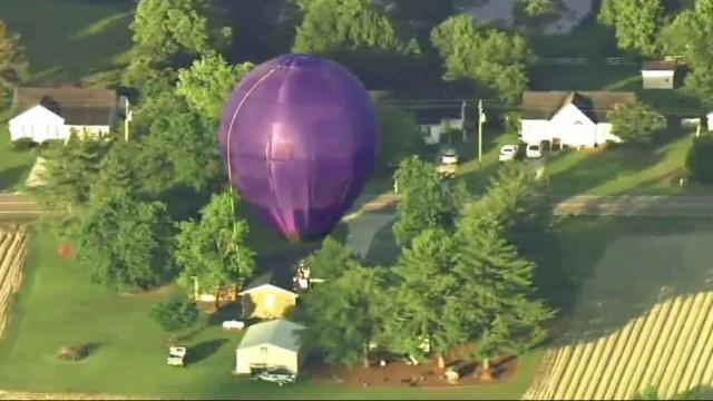homemade hot air balloon