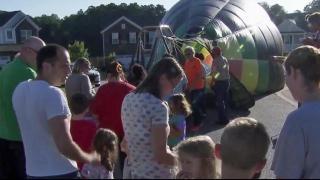 Surprise! Balloon lands outside Fuquay-Varina homes