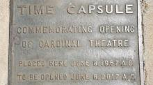IMAGE: North Hills unearths time capsule