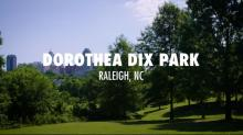 A walking tour of Dorothea Dix park