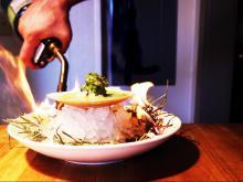 Motto's shrimp ceviche