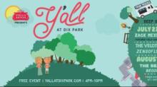 IMAGE: Y'all at Dix Park event postponed due to weather threat