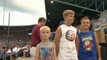 Thousands celebrate July 4th with 'America's pastime'