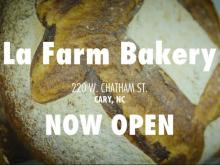 La Farm opens production bakery