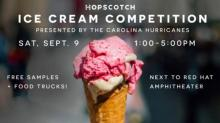 Hopscotch hosting food drive, ice cream contest
