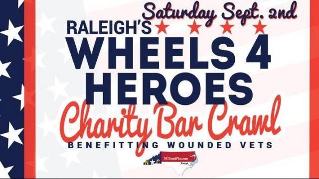Wheels 4 Heroes Charity Crawl Raleigh