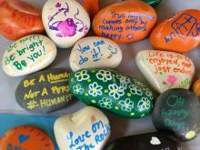 Find a painted rock? Get a free Sassool meal