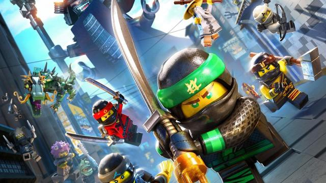 Lego Ninjago Movie Only Exists So Youll Buy Stuff Out And About