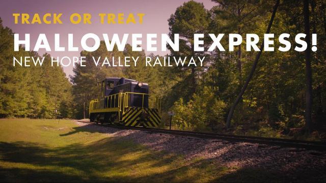new hope valley railway hosts halloween express wralcom - Halloween Express Raleigh
