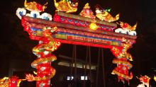 IMAGES: NC Chinese Lantern Festival closing early due to weather