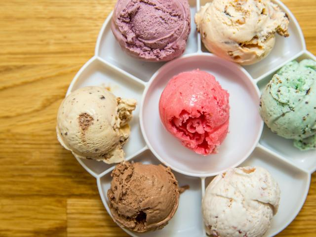 Ice cream tastes best when it is raining outside. Try a new spot you have never been to before, like Andia's in Cary, which features ice cream flights and a donut ice cream sundae.