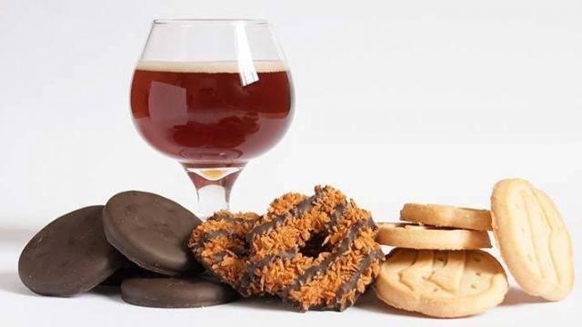Girl Scout Cookies & Beer Pairing!