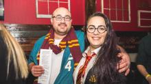 IMAGES: Harry Potter crawl ticketholders: It was a trick
