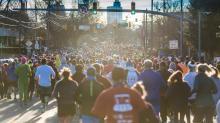 IMAGES: Line up, chow down: 2018 Krispy Kreme Challenge rolls through Raleigh