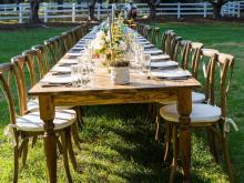 Spring Mandolin Farm Dinner
