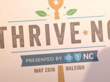 Thrive NC sign