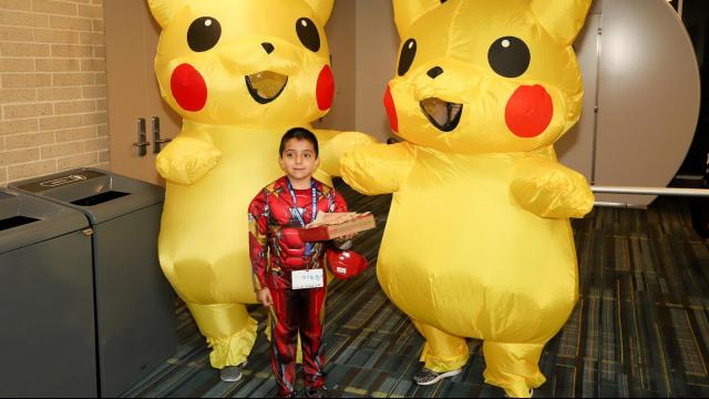 Animazement, an annual festival celebrating Japanese visual culture, was held in the Raleigh Convention Center from May 25-27, 2018 in downtown Raleigh, North Carolina. (Photo by: Jerome Carpenter/WRAL Contributor)
