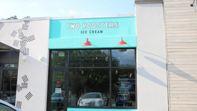 The Destination Ice Cream Shop In North Raleigh Two Rooster Launched Its Pop Up Location