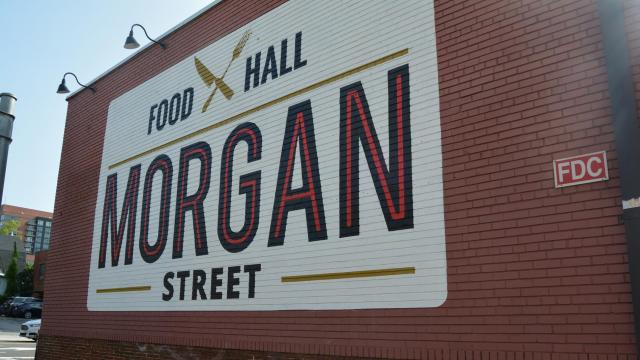A look inside Morgan Street Food Hall on its opening day Aug. 20, 2018.