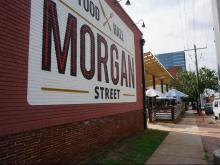 Morgan Street Food Hall's opening day
