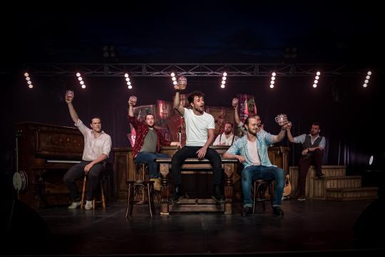 Production Photos for Choir of Man