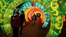 IMAGES: Chinese Lantern Festival opens in Cary