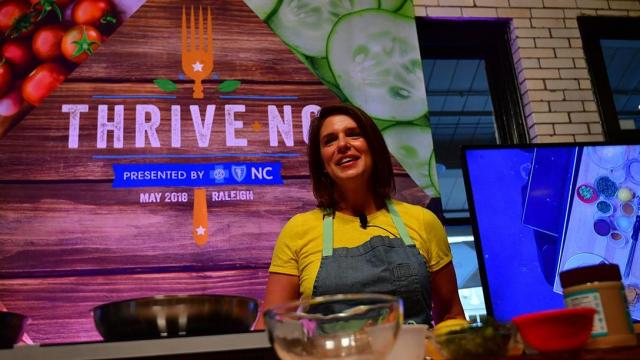 Thrive NC 2018 food festival and summit (Photos courtesy of Thrive NC)