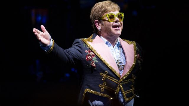 Elton John visits the PNC Center in Raleigh, N.C. on Tuesday, March 12, 2019. The show is a stop on his Farewell Yellow Brick Road tour. (Photo By: Christine Baird / WRAL.com)