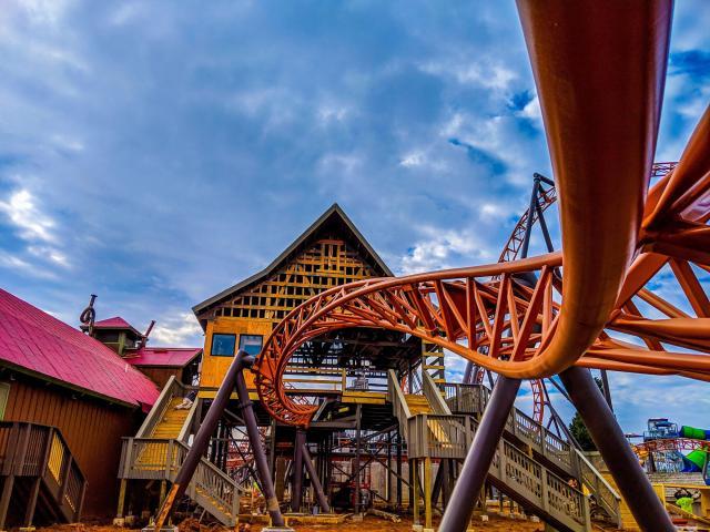 New Carowinds rollercoaster nears opening date