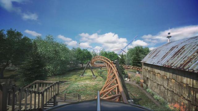 Ride' Carowinds' newest roller coaster :: WRAL com