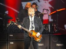 Paul McCartney performs at PNC Arena
