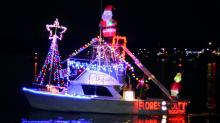 IMAGES: Holiday Flotilla lights up Wrightsville Beach