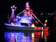 Holiday Flotilla at Wrightsville Beach