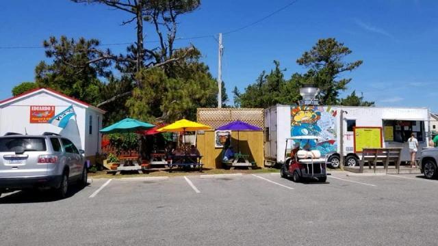 Eduardo's Taco Stand in Ocracoke Island