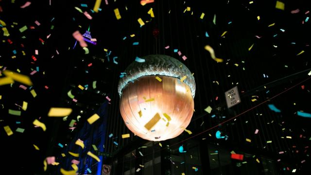 Downtown Raleigh hosts the WRAL First Night New Year's Eve celebration. Locals from the Triangle enjoy fireworks, music and food to close out 2019. Baird Photography / WRAL.com