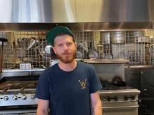 Whiskey Kitchen chef Kyle Teears