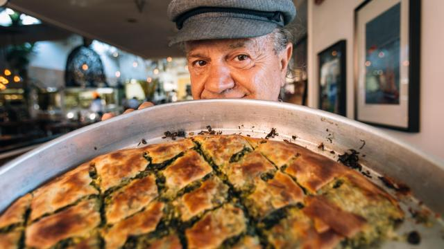 Restaurateur Giorgios Bakatsias (Photo by Shannon Kelly)