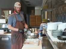 Koan chef shares crab cake recipe