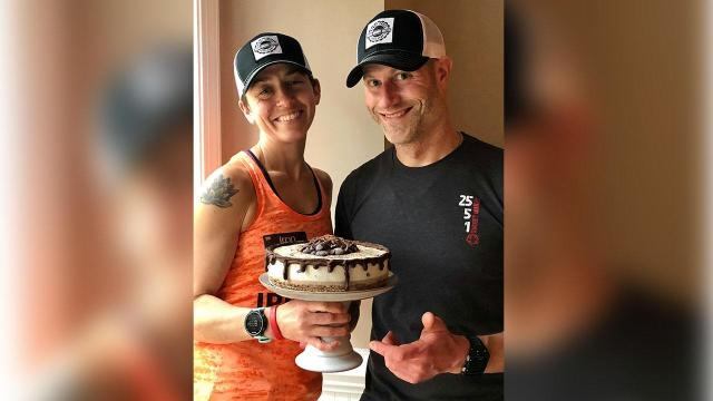 Plant Cakes owners Mark Deskus and Jess Reilly