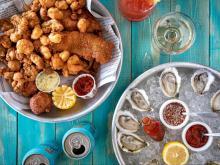 Jimmy's Dockside at Saint James Seafood menu